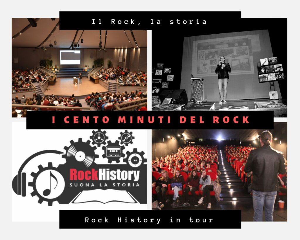 Il progetto Rock History è nato nel 2012 da un'idea di Gabriele Medeot per parlare della storia degli ultimi 50 anni ai ragazzi delle scuole attraverso il Rock. Da quando è partito, Rock History non si è più fermato e oggi prende il via la campagna di crowdfunding per far arrivare il progetto in tutta Italia.