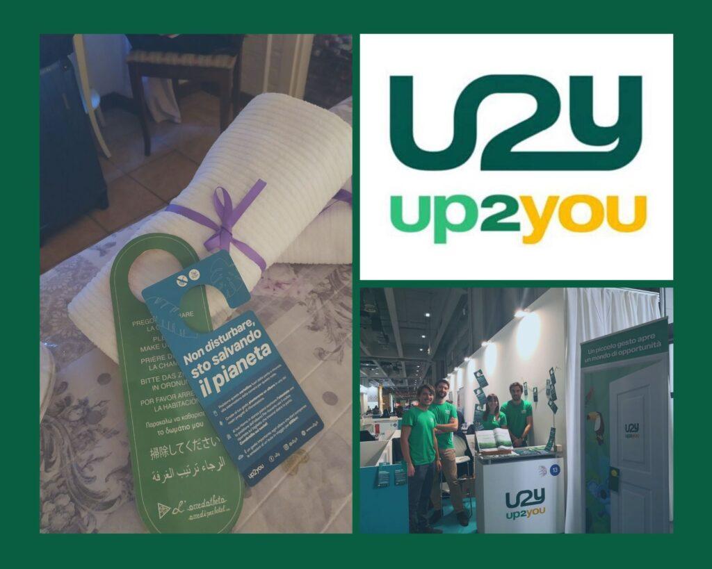 Up2you è la start up innovativa che offre la possibilità di piantare un albero ai clienti di alberghi, hotel, B&B che rinunciano a farsi rifare la camera. In questo modo possono scegliere di contribuire a progetti di riforestazione in Toscana, India, Australia