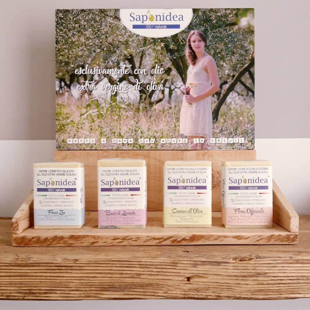 Saponidea: sapone artigianale naturale