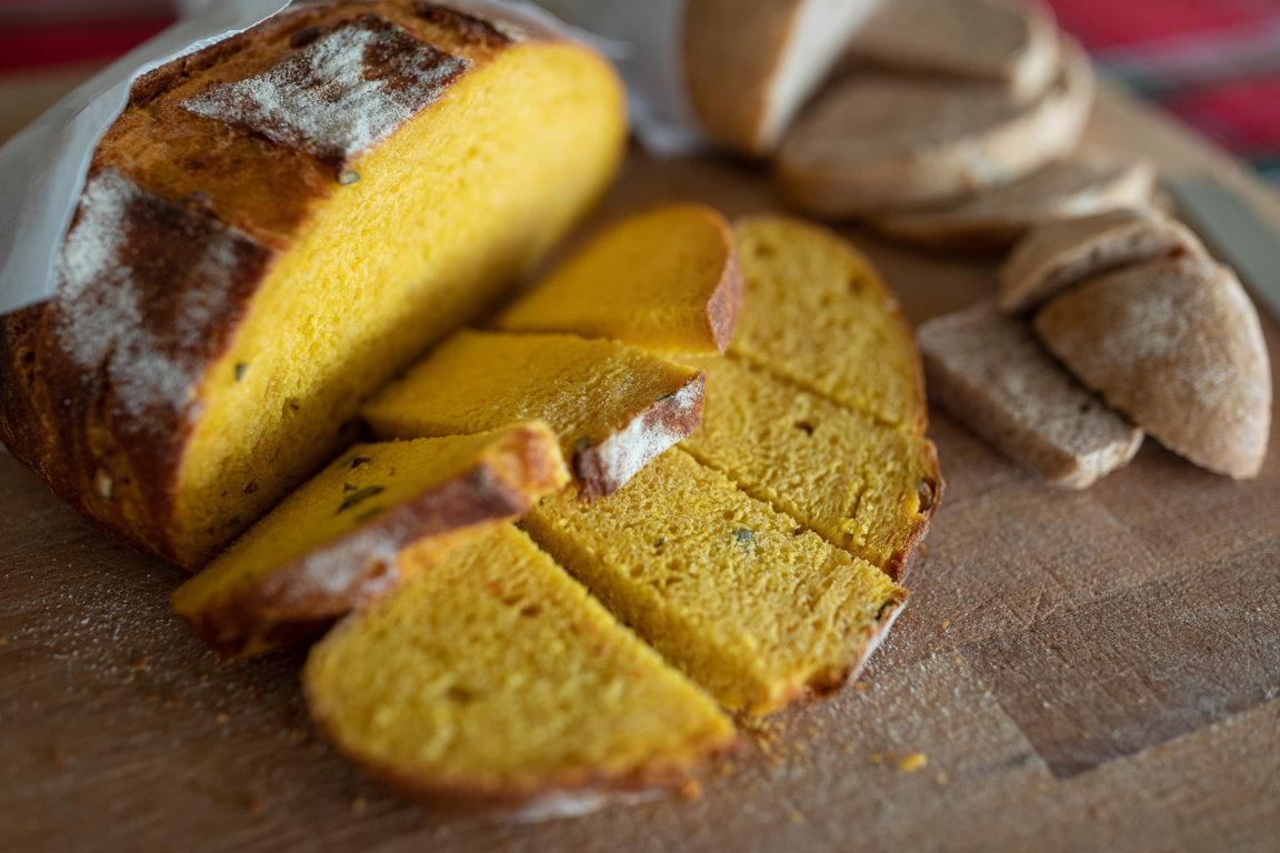 Pane fatto in casa Agriturismo Settecento Alberi