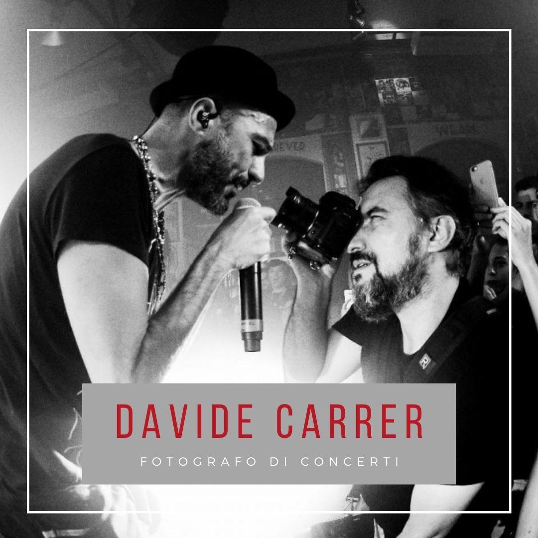 Davide Carrer fotografo di concerti