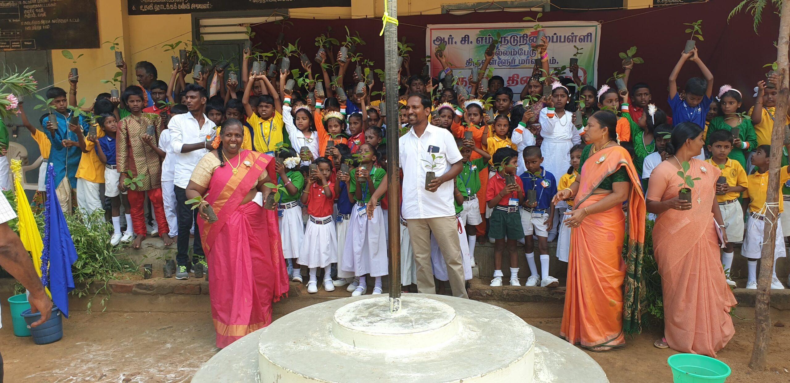 Up2you: progetto piantumazione in India