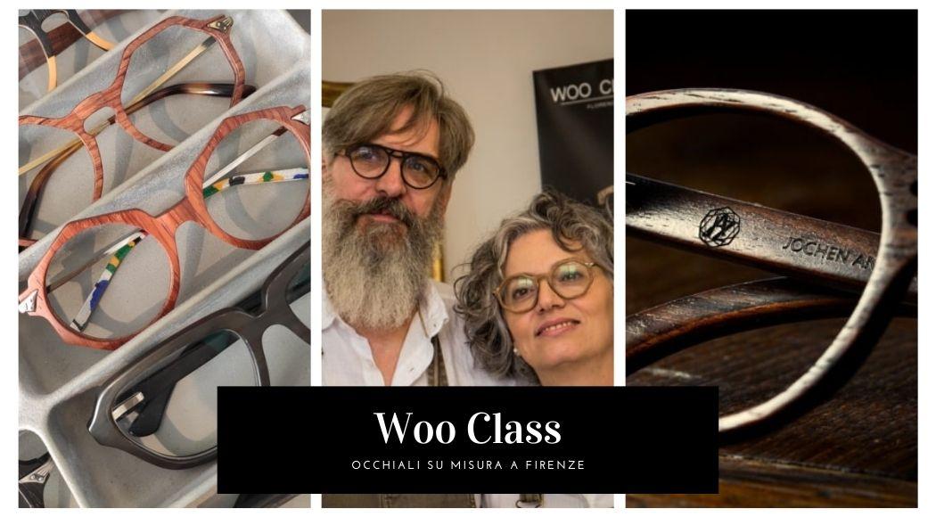 Woo class occhiali artigianali in legno