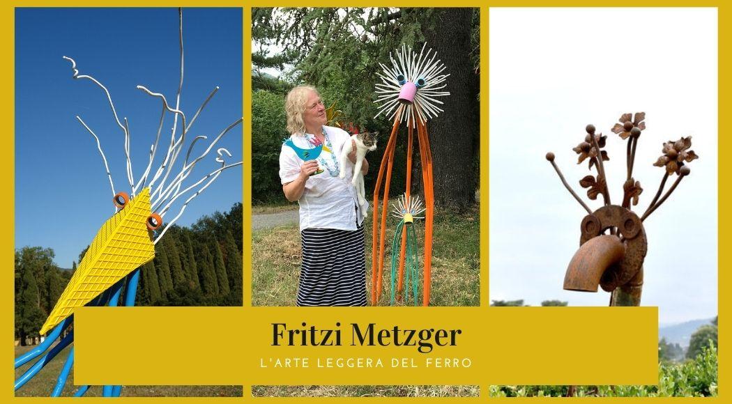 Fritzi Metzger artista del ferro