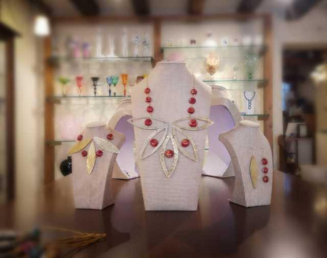 I gioielli di Le gioie di Giada per la Venice Glass Week